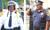 DPS Lt. Siaosi Aiono (left) and Police Officer Emanuele Lito (right) [Samoa News photos]