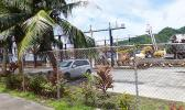 Samoa News photo taken from the main road shows part of the Ronald Reagan Marine Railway, the ASG owned shipyard in Satala
