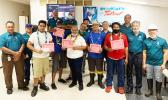 StarKist employees being honored for years of service