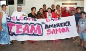 Families and friends welcome home American Samoa Special Olympics team