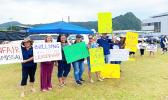 Parents join striking teachers at SPA