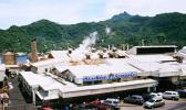 Aerial view of StarKist Samoa plant