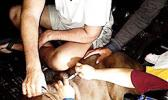 Jersey receiving emergency surgery