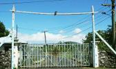 Gateway to the old Tafa'igata prison in Samoa.