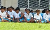 Students from Tafuna Elementary School