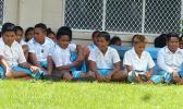 Students from Tafuna Elementary School