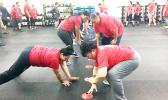 TAOA exercise group at SSY gym
