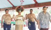 Taupou Tulimalefo'i,Rev. Mageo Patolo Mageo,members of the Pago Pago Aumaga