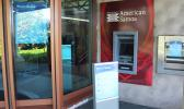 ATM for the Territorial Bank of American Samoa (TBAS), located at the entrance to the former Tafuna branch of Bank of Hawaii.