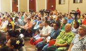 Teachers gather in Apia, Samoa for their annual conference, in a Jan. 2017 file photo