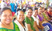 teachers at opening ceremony of 2018-19 school year