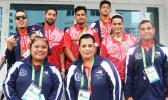 Team American Samoa heading to closing ceremony [photo: Team AS]