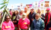 TMT protesters hold briefing on Mauna Kea situation.