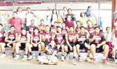 Tafuna High School basketball champs and their coaches and supporters