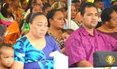Grieving parents of Tinian Makewijere Tuileto'a Toese, Sililo and Winnie Tuileto'a Toese