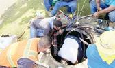 ASPA crew working to restore power last Friday