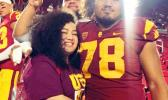 USC defensive lineman Jay Tufele