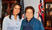 Rep. Tulsi Gabbard and Rep. Aumua Amata