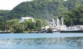 Tuna boats in port, American Samoa, 2009