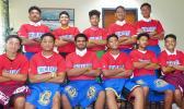 Members of the American Samoa 18U national baseball team