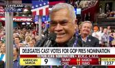Utu Abe Malae, casting live on national television American Samoa's vote during the 2016 National Republican Convention in Cleveland, Ohio for then candidate for US President, Donald J. Trump.