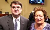Congresswoman Amata with VA Secretary Wilkie