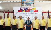 Polynesian Leaders Group including Lt. Gov. Lemanu Peleti Mauga of American Samoa