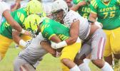 Warriors inside linebackers Elden Titania and Setefano Galea'i