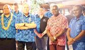 NZ Deputy PM Winston Peters in Vanuatu