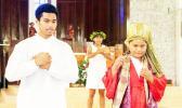 Members of International Community of the Holy Family Parish