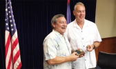Sec. Ryan Zinke with Guam Governor Eddie Calvo